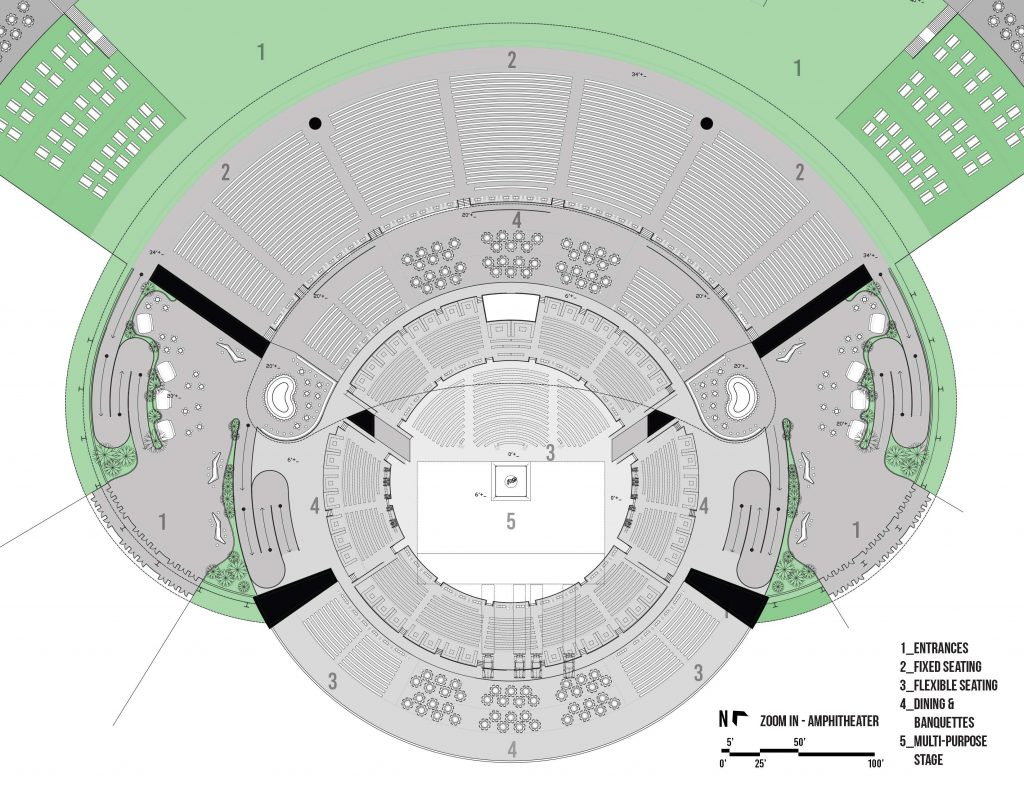 Concept: The New Amphitheater